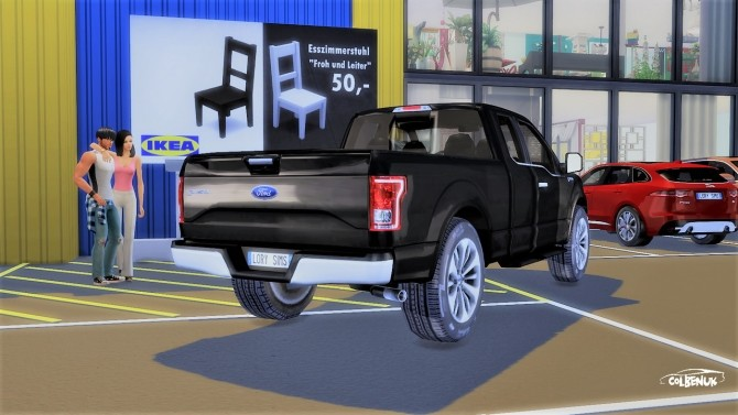 Ford F 150 at LorySims image 2144 670x377 Sims 4 Updates