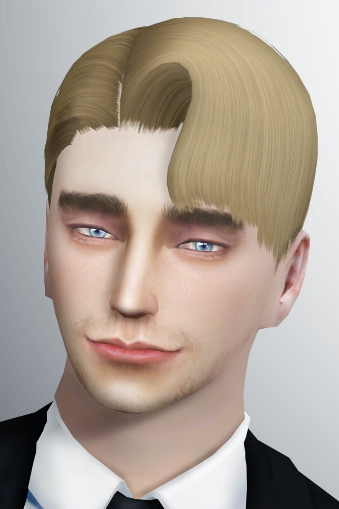 Sims 4 Question Mark Hair by Lonelyboy at Happy Life Sims