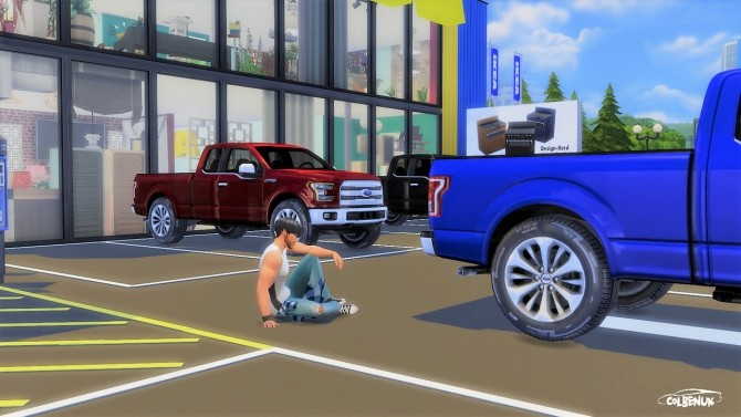 Ford F 150 at LorySims image 2154 670x377 Sims 4 Updates