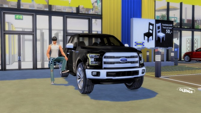 Ford F 150 at LorySims image 2164 670x377 Sims 4 Updates