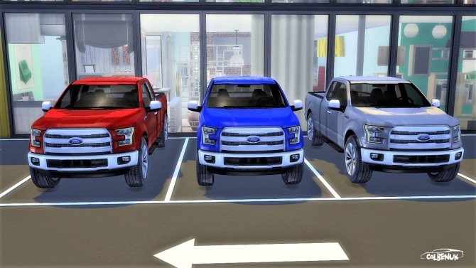 Ford F 150 at LorySims image 2174 670x377 Sims 4 Updates