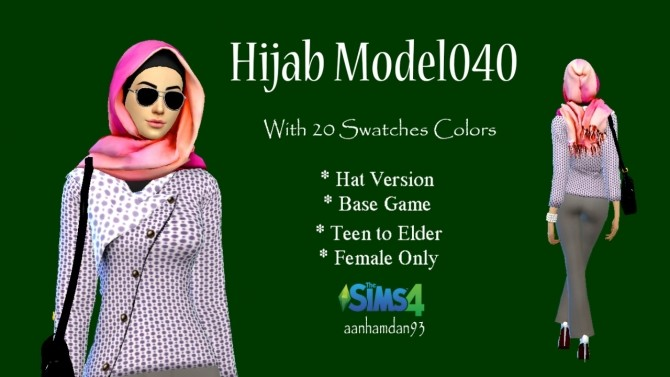 Hijab Model 039 & 040 at Aan Hamdan Simmer93 image 2181 670x377 Sims 4 Updates
