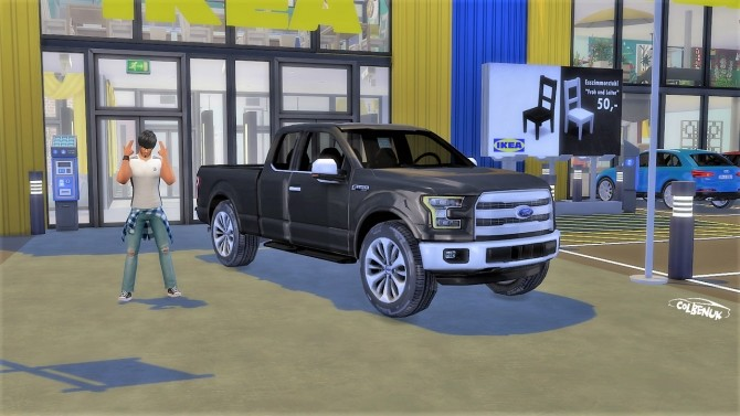 Ford F 150 at LorySims image 2184 670x377 Sims 4 Updates
