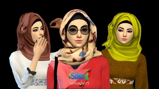 Hijab Model 039 & 040 at Aan Hamdan Simmer93 image 2191 670x377 Sims 4 Updates