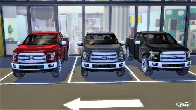 Ford F 150 at LorySims image 2194 670x377 Sims 4 Updates