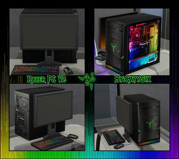 Razer PC V2 at CatySix image 220 Sims 4 Updates