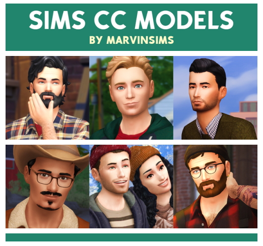 Sims CC Models at Marvin Sims image 2204 Sims 4 Updates