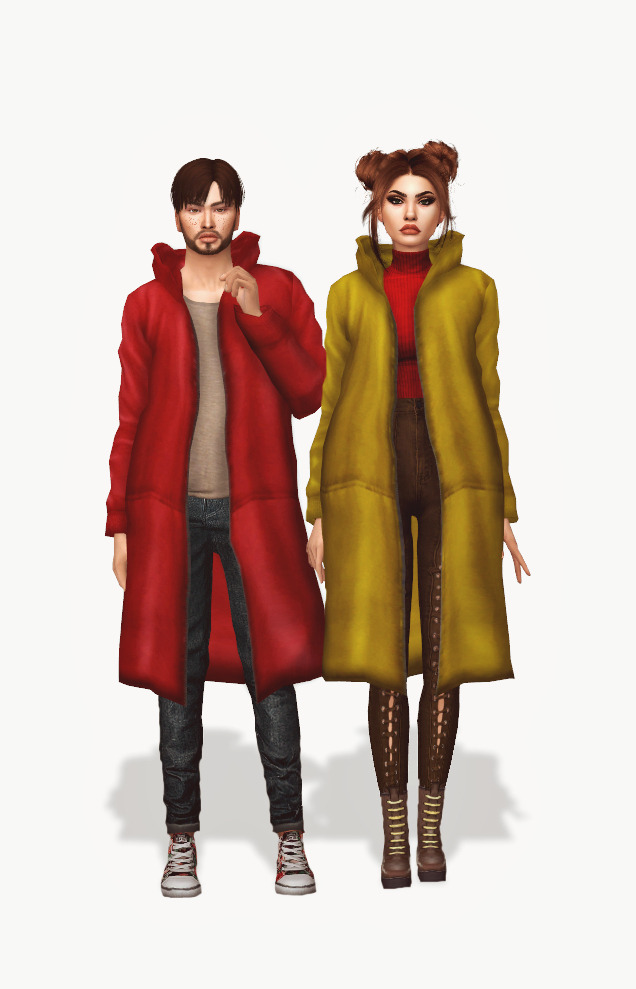 Simsimi Long Hoodie Acc Conversion at Astya96 image 2212 Sims 4 Updates