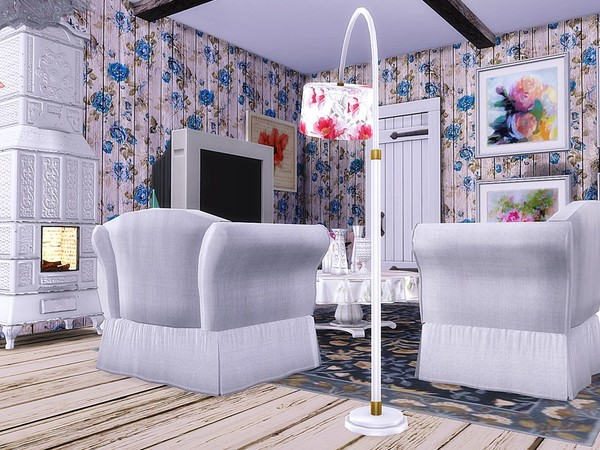 Old Shabby Cottage by MychQQQ at TSR image 2217 Sims 4 Updates