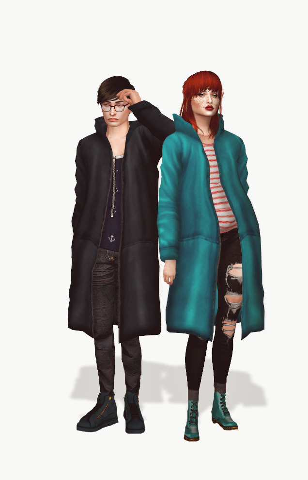 Simsimi Long Hoodie Acc Conversion at Astya96 image 2221 Sims 4 Updates
