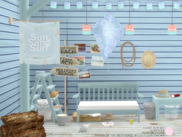 Sims 4 Coast Sun Set by DOT at TSR