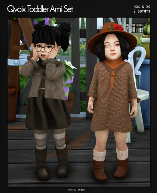 Ami Set T at qvoix – escaping reality image 2264 Sims 4 Updates