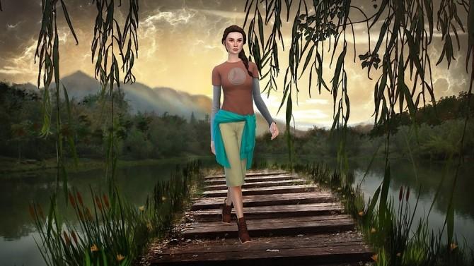 CAS Background Lake Bridge at CatySix image 227 670x377 Sims 4 Updates
