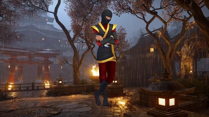 CAS Background Samurai Ninja at CatySix image 228 670x377 Sims 4 Updates
