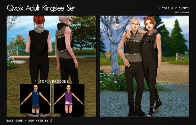 Sims 4 Kingslee Set at qvoix – escaping reality