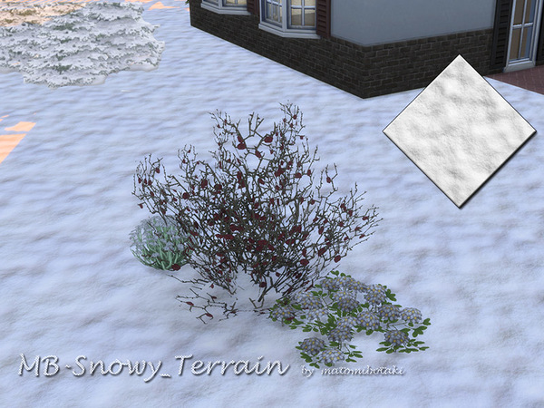 MB Snowy Terrain by matomibotaki at TSR image 2316 Sims 4 Updates