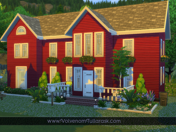 Sims 4 Melsom Cottage by Volvenom at TSR