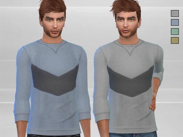 Sims 4 Casual Sweatshirt by Puresim at TSR