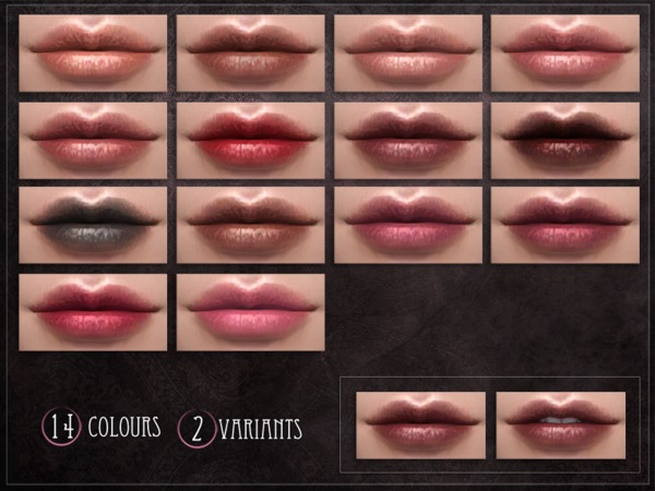 Sims 4 Specificity Lipstick by RemusSirion at TSR