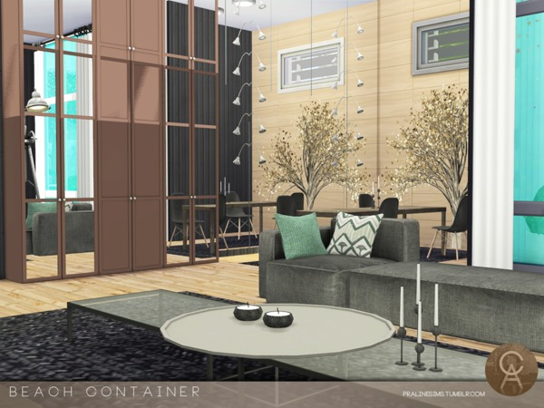 Beach Container by Pralinesims at TSR image 2514 Sims 4 Updates