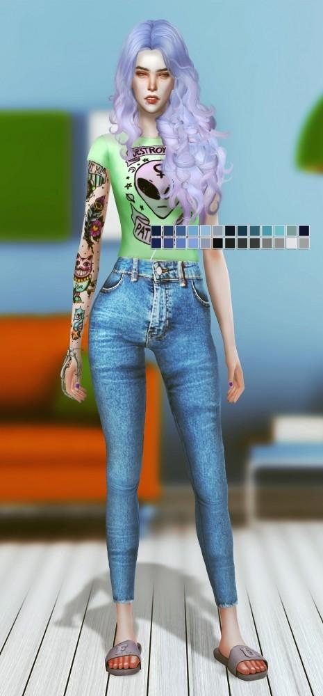 Jeans #2 at Magic bot image 2521 465x1000 Sims 4 Updates