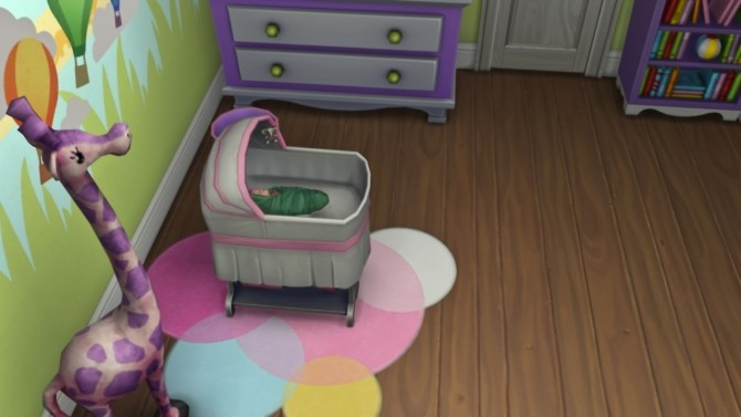 Sims 4 Life is Strange Before the Storm Deco Baby at Josie Simblr