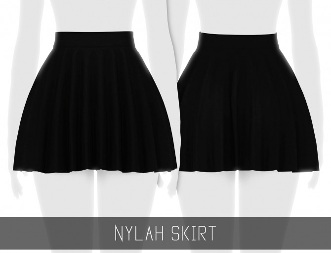Sims 4 NYLAH SKIRT at Simpliciaty