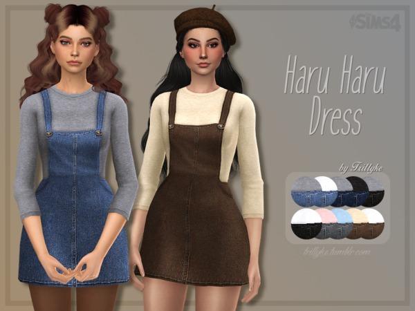 Sims 4 Haru Haru Dress by Trillyke at TSR