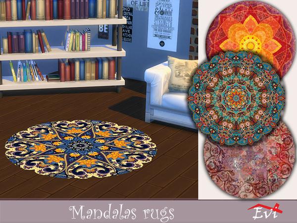 Mandala rugs by evi at TSR image 2636 Sims 4 Updates