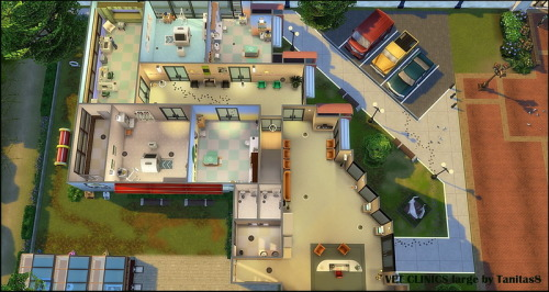 VET CLINICS large and small at Tanitas8 Sims image 2641 Sims 4 Updates