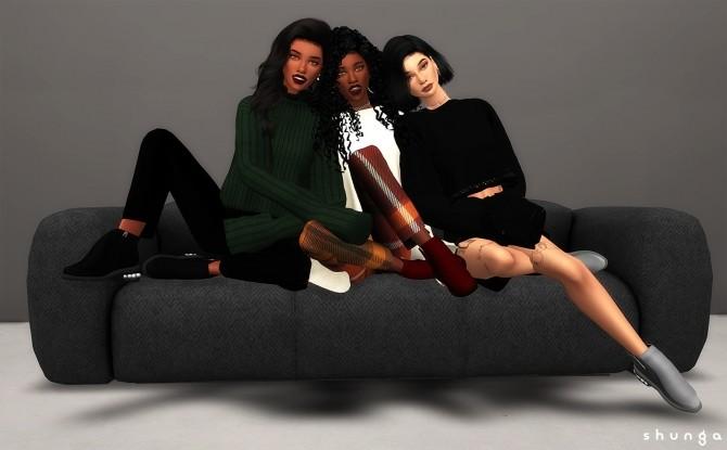 Sims 4 Boots & Decor at Shunga