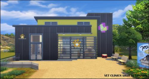 VET CLINICS large and small at Tanitas8 Sims image 2661 Sims 4 Updates