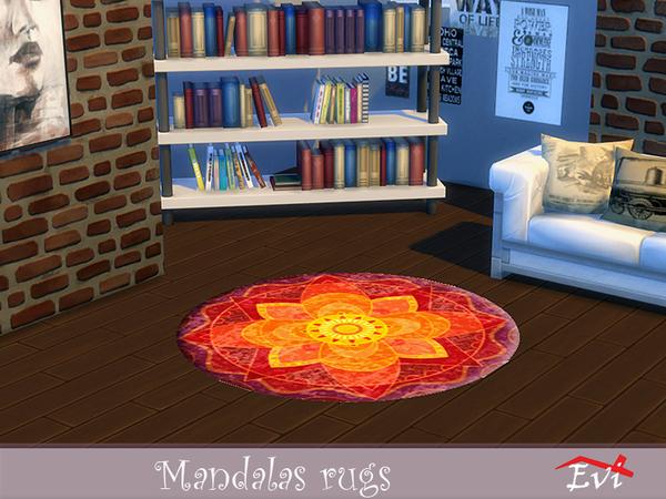 Mandala rugs by evi at TSR image 2733 Sims 4 Updates