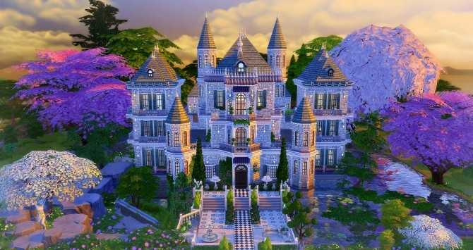 Beauregard castle by Angerouge24 at Studio Sims Creation image 2752 670x355 Sims 4 Updates