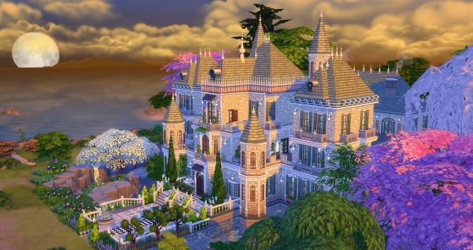 Beauregard castle by Angerouge24 at Studio Sims Creation image 2762 670x355 Sims 4 Updates