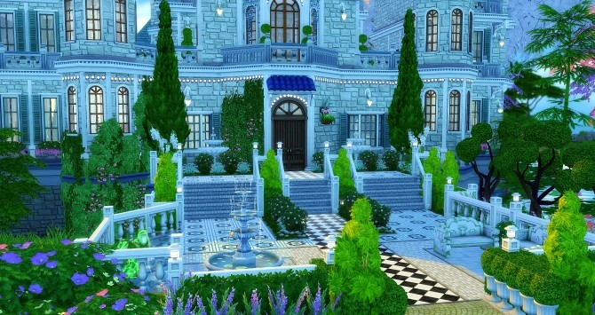 Beauregard castle by Angerouge24 at Studio Sims Creation image 2772 670x355 Sims 4 Updates