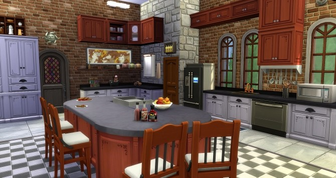 Beauregard castle by Angerouge24 at Studio Sims Creation image 2792 670x355 Sims 4 Updates
