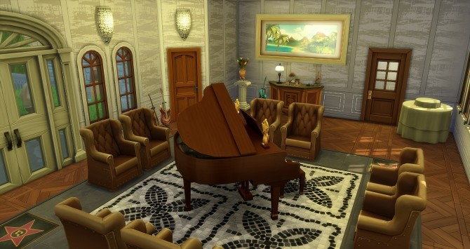 Beauregard castle by Angerouge24 at Studio Sims Creation image 2802 670x355 Sims 4 Updates