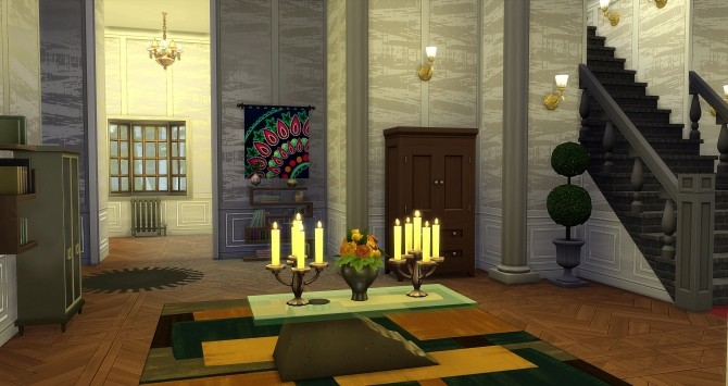 Beauregard castle by Angerouge24 at Studio Sims Creation image 28110 670x355 Sims 4 Updates