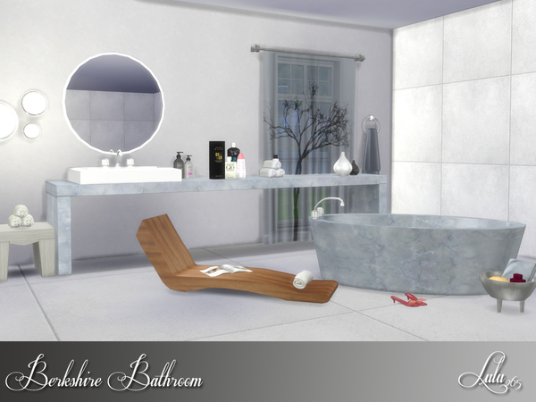 Berkshire Bathroom by Lulu265 at TSR image 2815 Sims 4 Updates