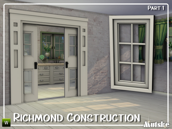 Sims 4 Richmond Construction set Part 1 by mutske at TSR
