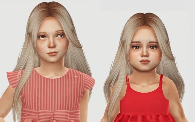 Nightcrawler Muse Hair Kids & Toddlers at Simiracle Sims