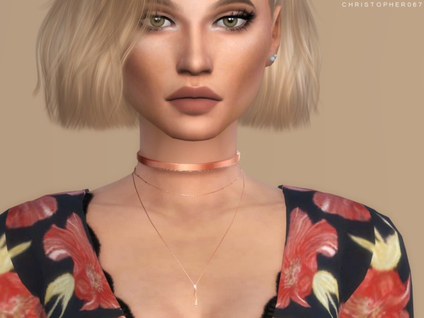 Lovato Necklace 2 Versions by Christopher067 at TSR image 2910 Sims 4 Updates