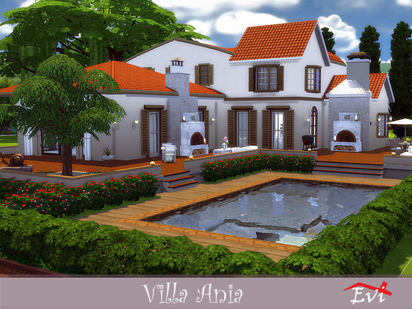 Villa Ania by evi at TSR image 2916 Sims 4 Updates