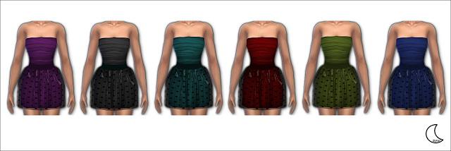 JADE DRESS at Blue8white image 292 Sims 4 Updates
