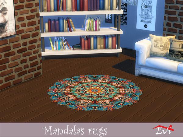 Mandala rugs by evi at TSR image 2930 Sims 4 Updates