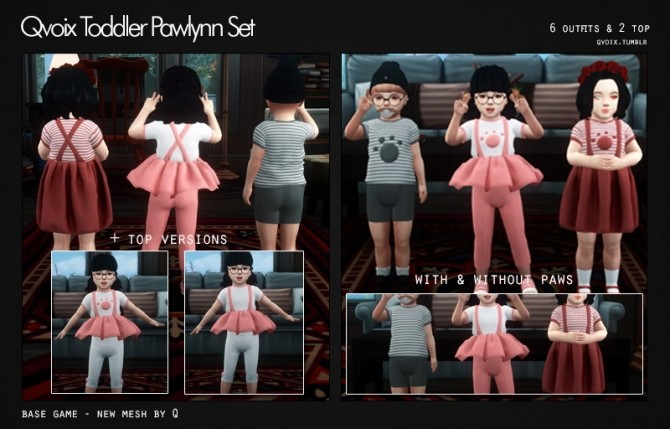 Pawlynn Set T at qvoix – escaping reality image 296 670x429 Sims 4 Updates