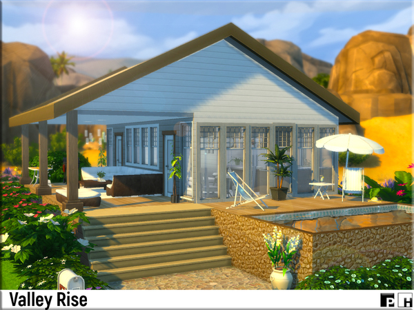 Valley Rise by Pinkfizzzzz at TSR image 3 Sims 4 Updates