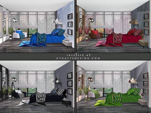 Amber Bedroom by NynaeveDesign at TSR image 30 Sims 4 Updates