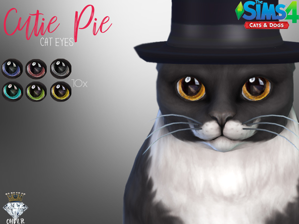 Cutie Pie Cat Eyes by MadameChvlr at TSR image 3010 Sims 4 Updates